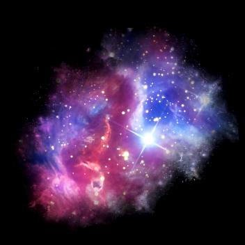 stars constellation bright colorful...