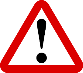 caution danger freetoedit