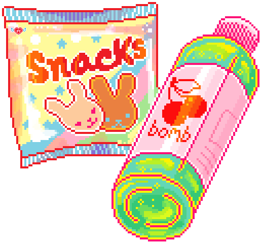 Pixels Cute Kawaii Bunny Tumblr Food Snacks Pink Fruit