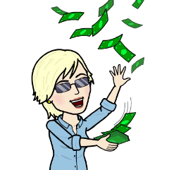 gena bitmoji cash freetoedit