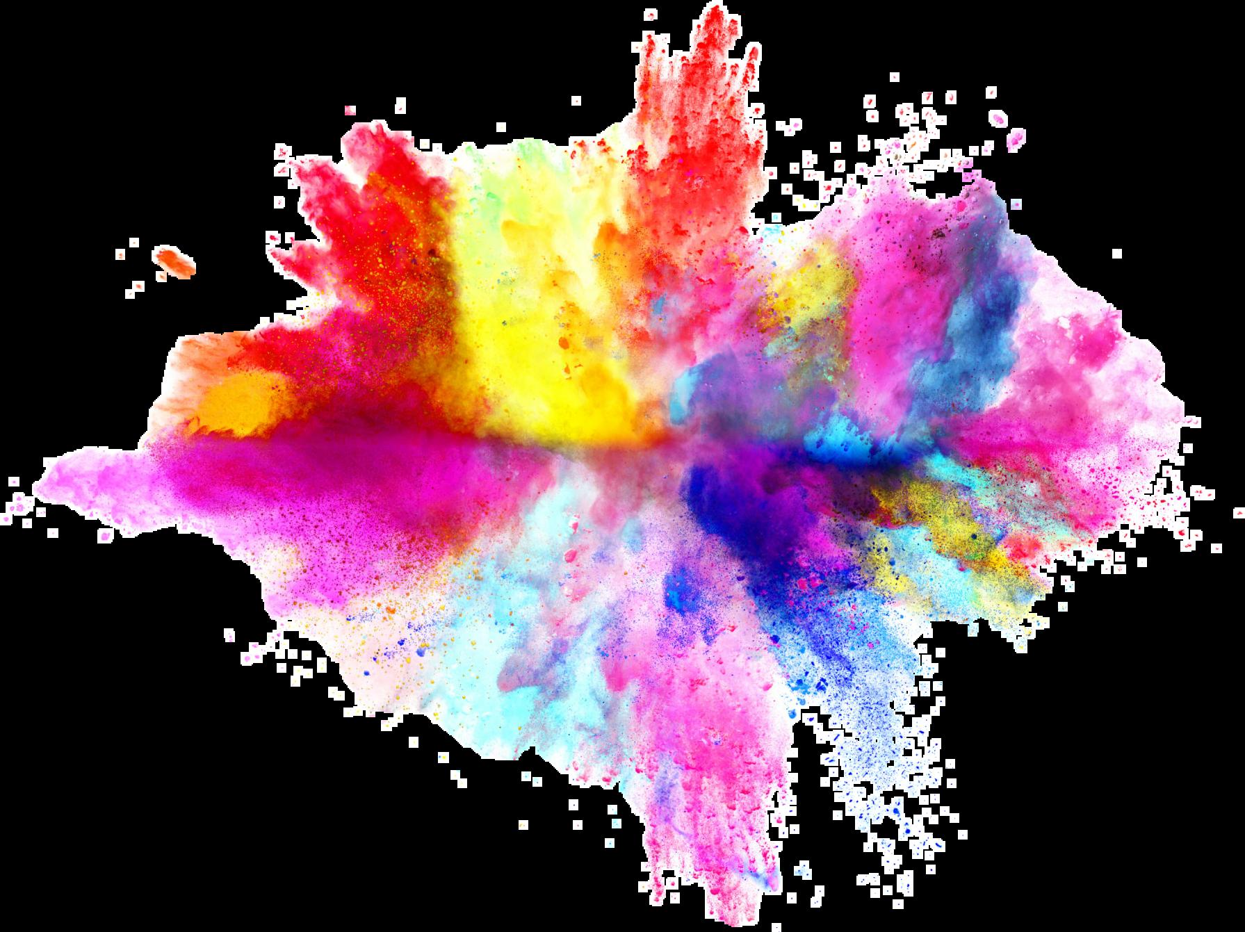 smoke color splash splashkd - Sticker by Krisna Dewi