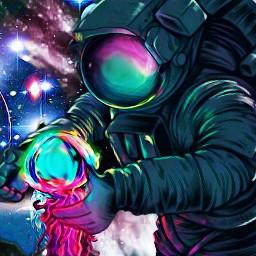 freetoedit astronaut dailyremixmechallenge remixgalleries dailyremixroundup