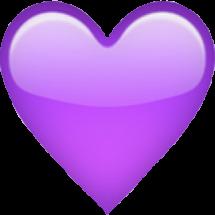 queen purple heart emoji purpleheart