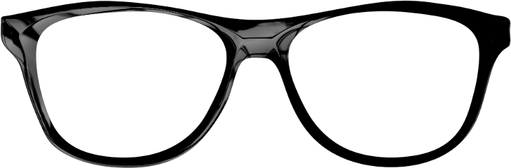glasses black freetoedit
