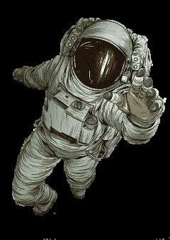 astronauta astronaut star stars galaxy