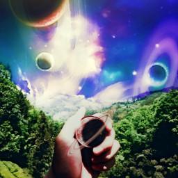 remixit dailyremixit planets surrealism getlost freetoedit