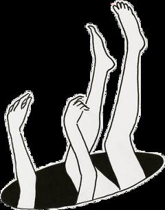 fallingintothehole falling illustration interesting girl
