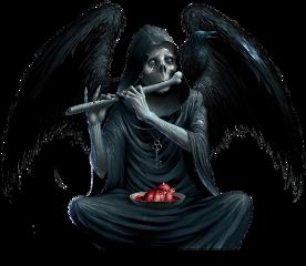 sad depressed alone darkangel death