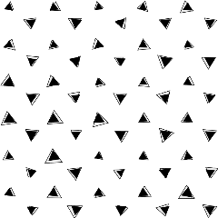 triangles shapes blackandwhite pattern geometricshapes freetoedit