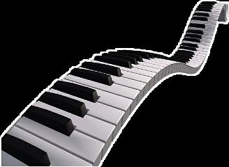 hypnotising pianokeys aesthetic blackandwhite freetoedit