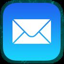 mail youvegotmail app blue envelope