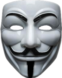 guyfawkes mask anonymous freetoedit