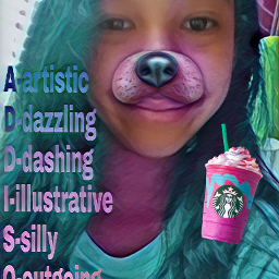 freetoedit fun tookalongtime unicornfrappucino starbucks