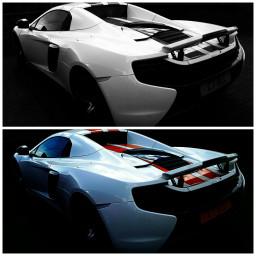 fastcars colour blackandwhite mclaren streamlined
