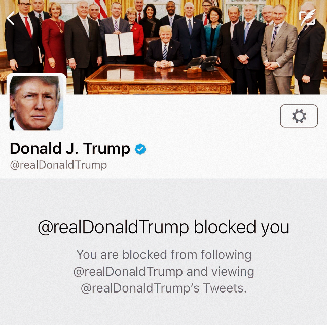 #ftestickers #trump #blocked #twitter #donaldtrump #block #tweet #window #text #profile #following #socialmedia #freetoedit