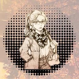 freetoedit anime manga autumn brown