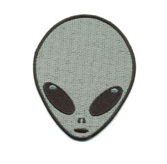 patch parche alien extraterrestre ovni ftesticker ftestickers freetoedit