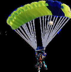 ftestickers parachuting freetoedit
