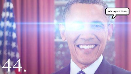 freetoedit obama president lasereyes lasereyesmeme