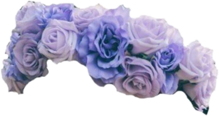 flower crown flowercrown tumblr lilac