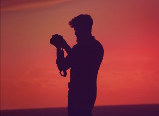 freetoedit man people photography sunset