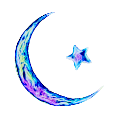 moonandstars star moon galaxy stickers