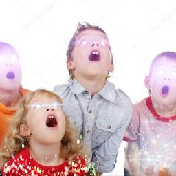 galaxybody kidsphoto coolkids surprised lasereyes freetoedit