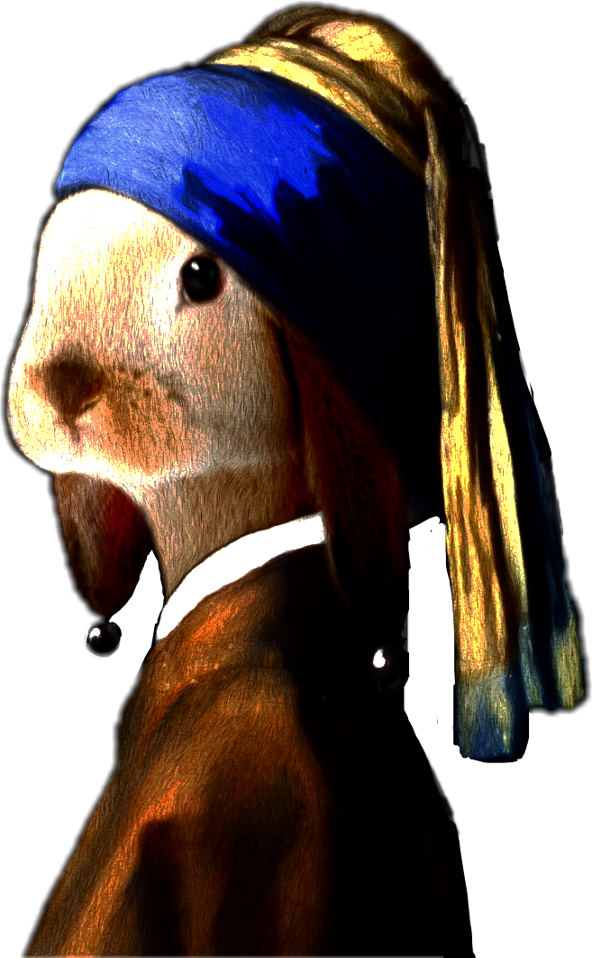 #bunny #pearlearrings #renaissanceremix #reneaissancesticker #ftestickers #freetoedit