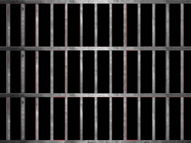 rejas carcel grills grill jail bad preso prisioner vall...