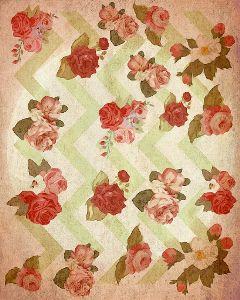 pattern flowers papereffect paperart geometry