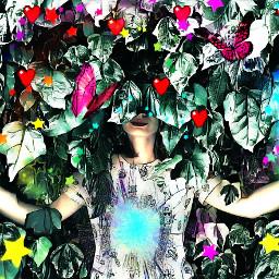 leavesremix rainbowcolors stickers heart hearts freetoedit