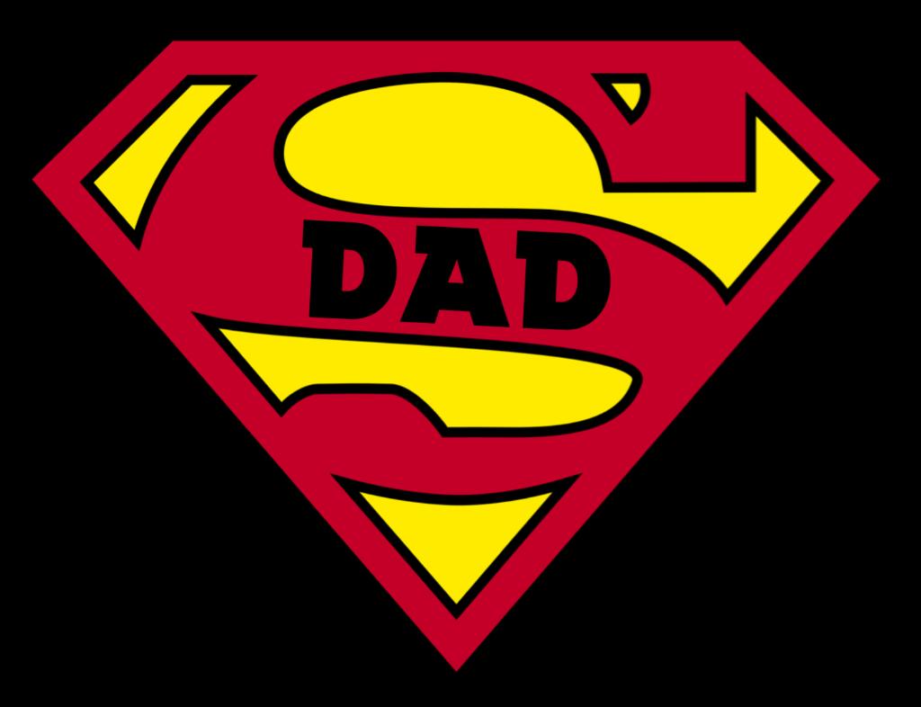 Superdad Dad Super Man Sticker By Nurfadly Manan