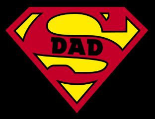 superdad dad super man freetoedit