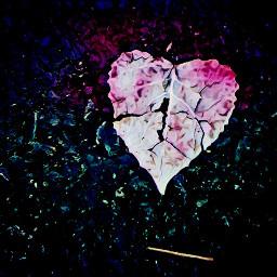 freetoedit beautiful heart leaflove