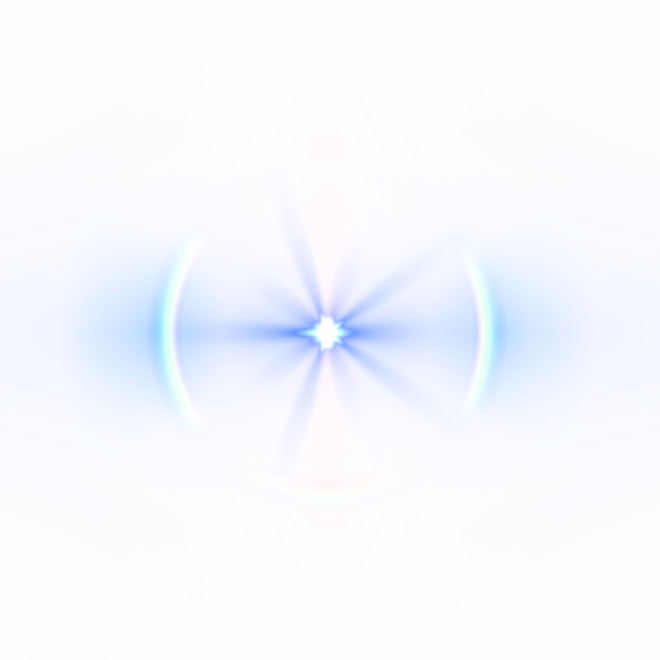 light effects glow glare rainbow blue bright... for Blue Bright Light Png  174mzq