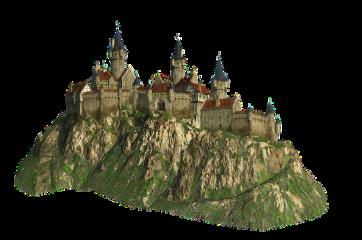 ftestickers castle freetoedit