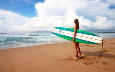 freetoedit beach surfer girl people
