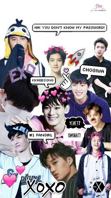 exo wallpaper exowallpaper kpop kpopwallpaper