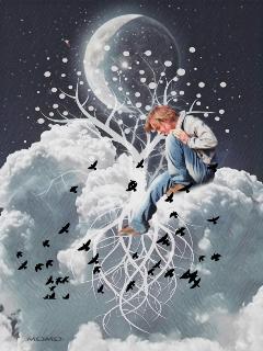 flockstickerremix treeoflifebrelfies clouds moon freetoedit