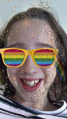 #antiselfie #rainbow #foureyes #dispersion #hiddenefect #magiceffect #watsrheeffectcommentdownbelowifyouknow#freetoedit