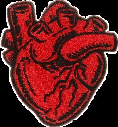 heart goth punk freetoedit