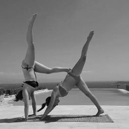 dpcyoga freetoedit yoga yogaeverydamnday yogagirls
