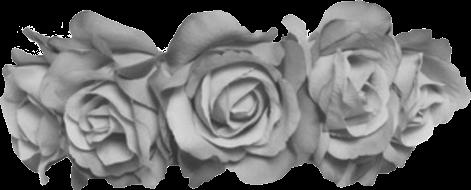 flowercrown flower crown grey freetoedit