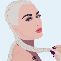 freetoedit katyperry portrait drawing