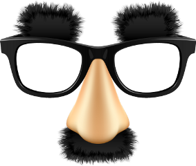 glasses grouchomarx funny eyebrows nose