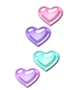 hearts pastel freetoedit