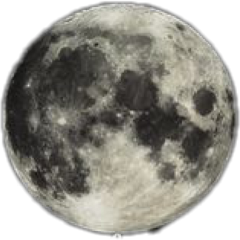 moon night art interesting sky