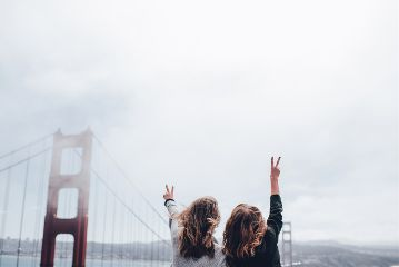 freetoedit girls peace bestfriends travel
