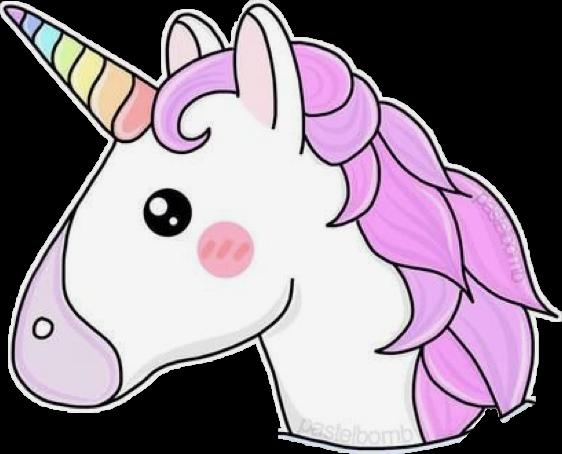 Unicorn Tumblr Whale Rainbow Emoji Sticker Cute Sweet Fondos De