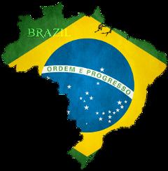 brazil map flag flagstickers freetoedit